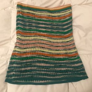 Missoni knit midi skirt size medium to large